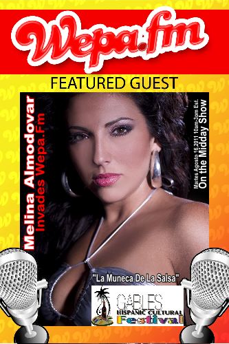 Melina Almodovar - Interview (Coral Gables Hispanic Festival 2011)