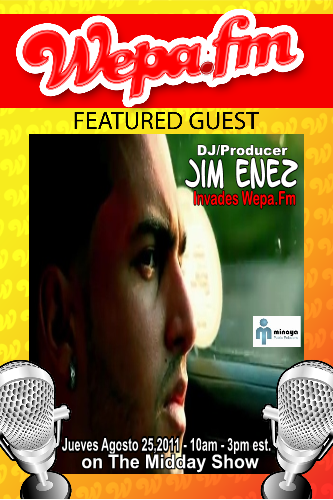 Jim Enez (DJ/Producer) - Interview