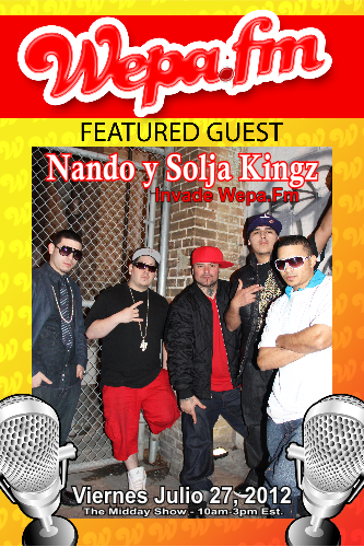 Nando y Solja Kingz - Interview