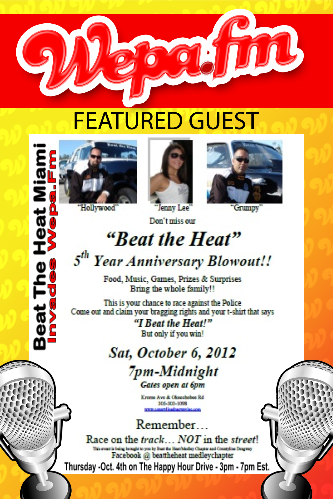 Beat The Heat Miami - Invades Wepa.Fm