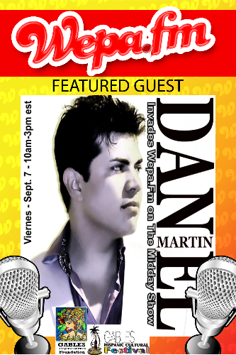 Daniel Martin - Interview (Gables Hispanic Festival 2012)